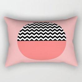 Moiety Pink Rectangular Pillow