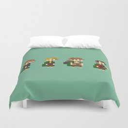 Frodo, Sam, Pippin and merry Duvet Cover