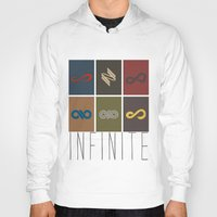 infinite Hoodies featuring Infinite by Sara Eshak