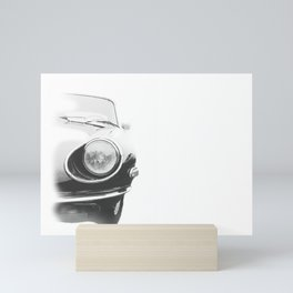 Sketchy Sports Car Mini Art Print