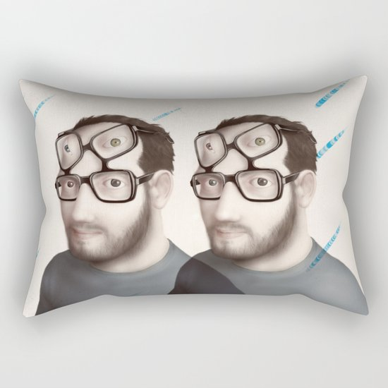 Points of View prints for sale Rectangular Pillow