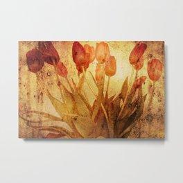 Tulpen Treffen Metal Print