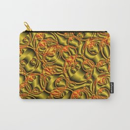 golden metall pattern Carry-All Pouch