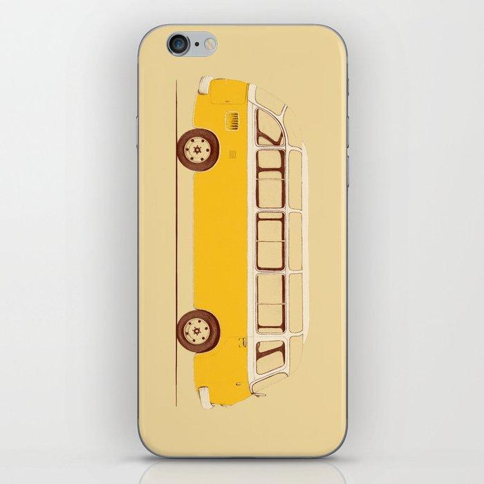 Yellow Van II iPhone Skin