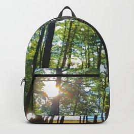 Tree Grove & Lake Sunrise Backpack