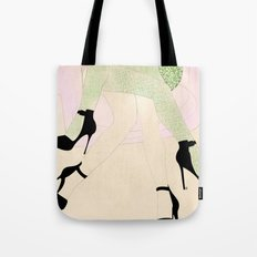 women sketch Tote Bag