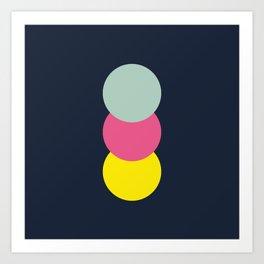 Three Dots 03 Art Print