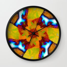 Plasma Wall Clock