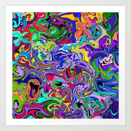 Abstract 23 Art Print