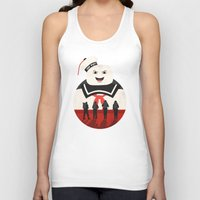 ghostbusters Tank Tops featuring Ghostbusters by Bill Pyle