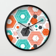 Too Hip To Be Square Wall Clock