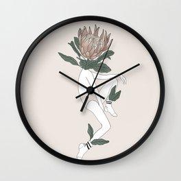 protea babe Wall Clock