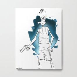 Reservoir Duck... Metal Print