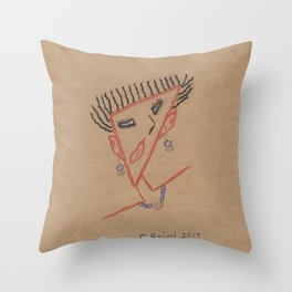 Looking Angular Throw Pillow