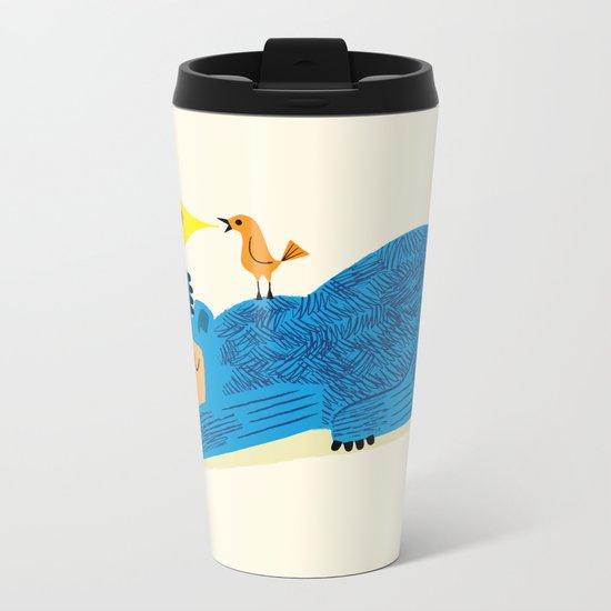 The Bear and The Bird Metal Travel Mug