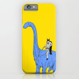 Dinosaur B iPhone Case