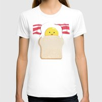 breakfast T-shirts featuring Morning Breakfast by Picomodi