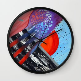 First Glimpse Wall Clock
