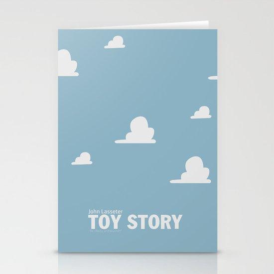 Toy Story   Minimalist Movie Poster Stationery Cards