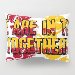 CoronaVirusAwareness Ribbon Pillow Sham