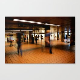 New York Train Station Canvas Print