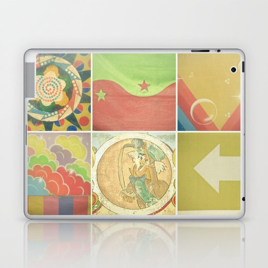 Fairground Details Laptop & iPad Skin