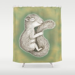 Hibernate Shower Curtain