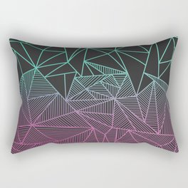 Beau Rays Rectangular Pillow