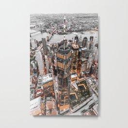 NEW YORK CITY XI Metal Print