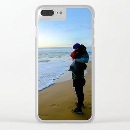 Rota Spain Beach 8 Clear iPhone Case
