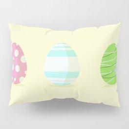 3 easter egg Pillow Sham