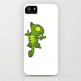 Cute Green Iguana Pet Lizard Reptile Owner Gift T-shirt Design Perfectly Made For Reptile Lovers iPhone Case