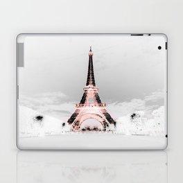 pariS Black & White + Pink Laptop & iPad Skin