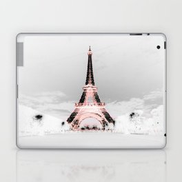 pariS Black & White + Pink copyright 2sweet4wordsDesigns Laptop & iPad Skin