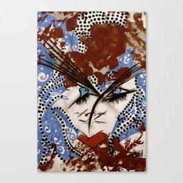 Madam Beauty tetkaART Canvas Print
