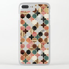 Twilight Moroccan Clear iPhone Case