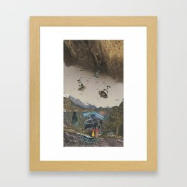 Invasion Framed Art Print