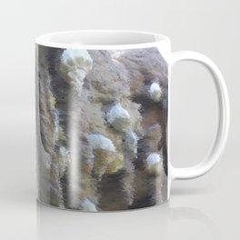 Chalk sketch of shells on stalactites Coffee Mug