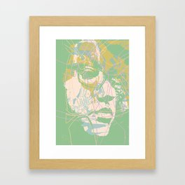 As it was and is not now Framed Art Print