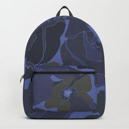 Night flowers Backpack