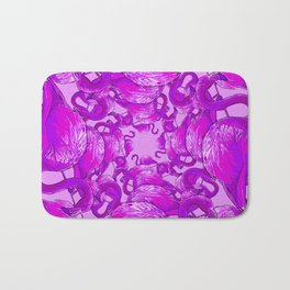 Flamingo Vector Bath Mat