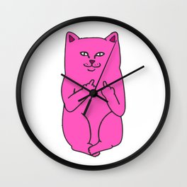 rip n dip lord nermal Wall Clock