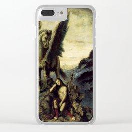 """Gustave Moreau """"Le Poète voyageur"""" Clear iPhone Case"""