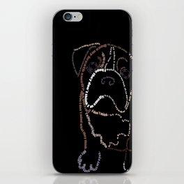 Bulldog Pup iPhone Skin