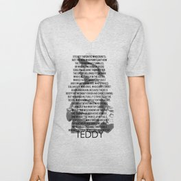 TEDDY Unisex V-Neck