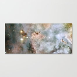 Wide-field image of stars in the Milky Way Galaxy Canvas Print
