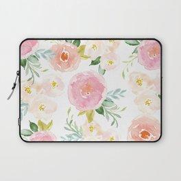 Floral 02 - Medium Flowers Laptop Sleeve