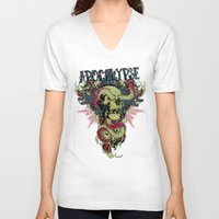 apocalypse now V-neck T-shirts featuring Apocalypse now by Tshirt-Factory