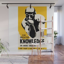 Use Your Library Wall Mural