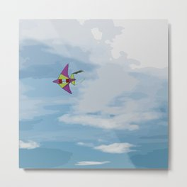 Kite Vector Metal Print